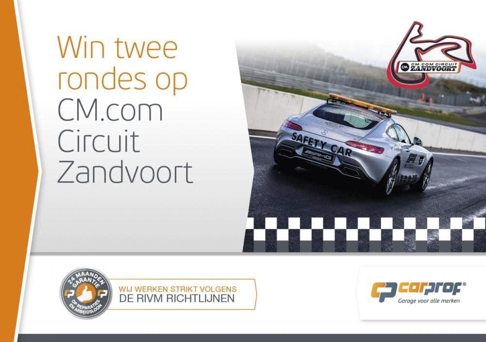 Win twee rondes op CM.com Circuit Zandvoort
